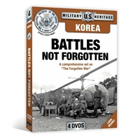 Korea - Battles Not Forgotten DVD