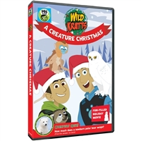 Wild Kratts: A Creature Christmas DVD