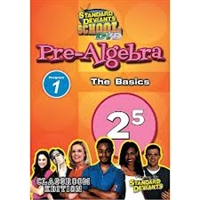 Standard Deviants School Pre-Algebra Module 1: The Basics DVD