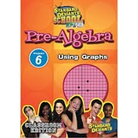 Standard Deviants School Pre-Algebra Module 6: Using Graphs DVD