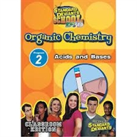 Standard Deviants School Organic Chemistry Module 2: Acids And Bases DVD