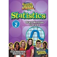 Standard Deviants School Statistics Module 2: Distribution Curves DVD
