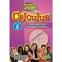 Standard Deviants School Calculus Module 6: Derivative Applications DVD