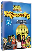 Standard Deviants School Trigonometry Module 4: Graphing Functions DVD
