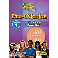 Standard Deviants School Pre-Calculus Module 1: Rational Functions DVD