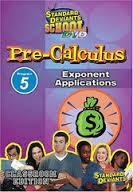 Standard Deviants School Pre-Calculus Module 5: Exponent Applications DVD
