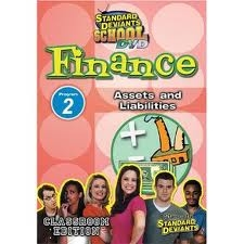 Standard Deviants School Finance Module 2: Assets And Liabilities DVD