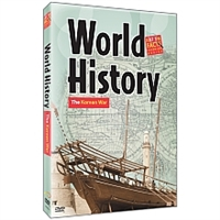 World History: The Korean War DVD