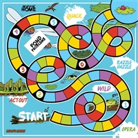 Kelso's Choice 'Hoppin Home' Board Game