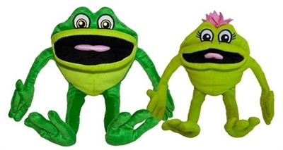 Kelso's Puppet Pack - Kelso And Lily