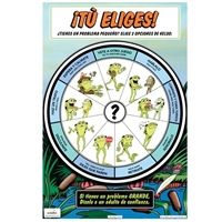 Kelso's Choice Wheel Full-Color Spanish Posters (2 Pack)