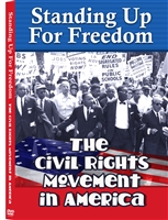 Standing Up For Freedom: The Civil Rights Movement In America DVD
