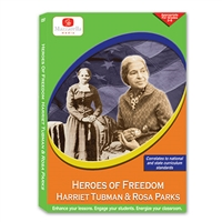 Heroes Of Freedom: Harriet Tubman and Rosa Parks DVD