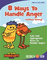 Get Along Monsters: 8 Ways To Handle Anger (Without Hitting) DVD