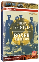 Just the Facts: Boxer Rebellion DVD