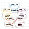 Character Recognition Note Cards (5 Pack) (GH5467)