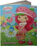 Strawberry Shortcake Spring Picking Sticker Book to Color