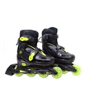 Yellow & Black Ultra-Wheels Micro Racer In-Line Skates