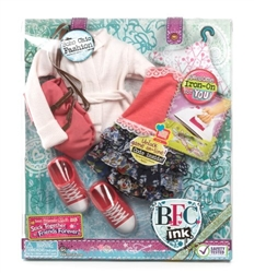 Best Friends Club Ink Large Doll Fashion Pack -Boho Chic