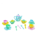 Turquoise & Yellow Play Tea Set