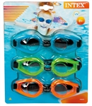 Intex Play Goggles Multicolored Tri-Pack