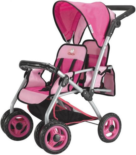 Twin Doll Stroller with Swiveling Wheels - Shop toys4usa for a ...