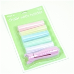 5 Pack Giant Sidewalk Chalk with Holder