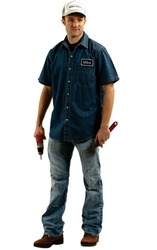 Mike Mechanic Costume - Adult