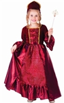 Burgundy Belle Ball Gown