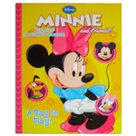 Minnie Mouse A Day to Play! Coloring Book