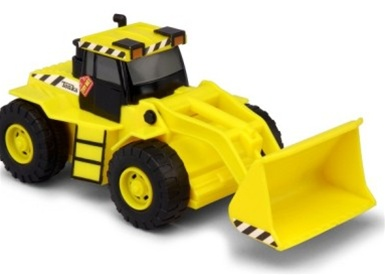 Tonka toughest minis front end loader 05749 shop for Tonka mighty motorized cement mixer
