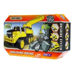 Matchbox mega rig 7 in 1 buildable wrecking squad shop for Tonka mighty motorized cement mixer