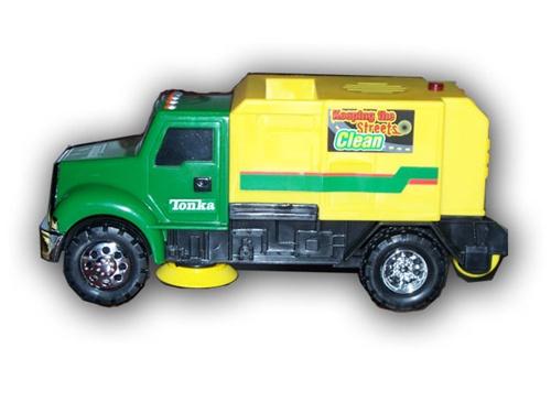 Tonka mini street sweeper shop toys4usa for a full for Tonka mighty motorized cement mixer