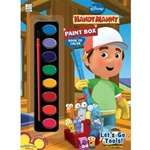 Handy Manny Paint Box Book to Color