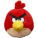 angry bird red pillow