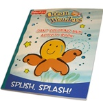 Ocean Wonders Splish Splash Giant Coloring and Activity Book