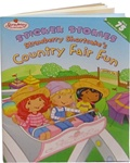 Sticker Stories Strawberry Shortcake's Country Fair Fun Book