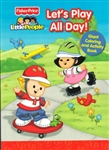 Fisher-Price Little People: Let's Play All Day! Giant Coloring & Activity Book