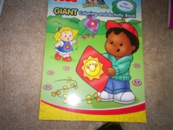 Fisher-Price Little People Giant Coloring and Activity Book