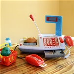 Kids Supermarket Cash Register for Pretend Play