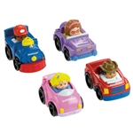 Fisher-Price Little People Wheelies All About Trucks
