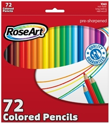 RoseArt Colored Pencils 72-Count