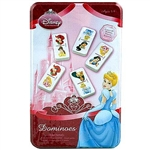 Disney Princess Domino Set in Metal Tin