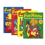 Fun House Coloring & Activity Book - Colors May Vary