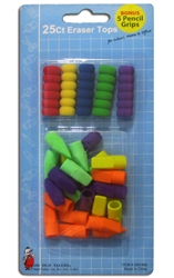 25 ct Eraser Tops