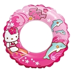 "Intex Hello Kitty Swim Ring, 20"" Diameter, for Ages 3-6"