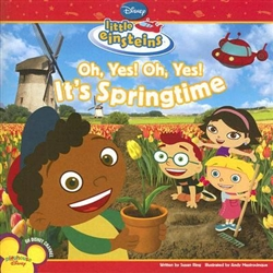 Little Einsteins O Yes, O Yes, It's Springtime! Book