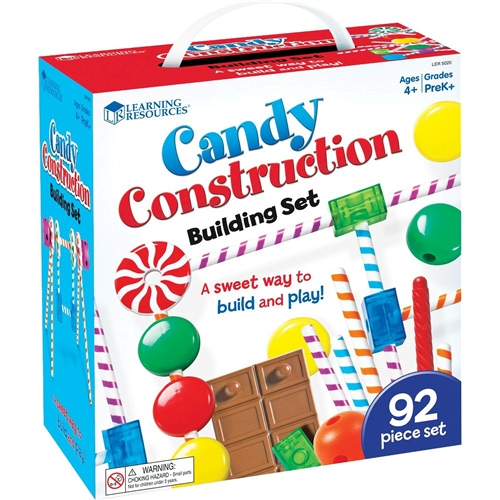 Learning Resources Candy Construction Building Toy Shop