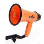 Sports Pro Professional 15W Megaphone/bullhorn with Siren and Handheld Mic
