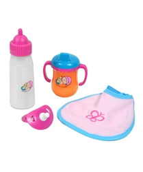 baby doll feeding set